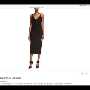 Cinq a Sept Corset Dress